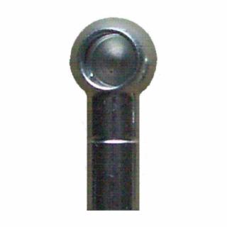 Ball socket, thread left all 356
