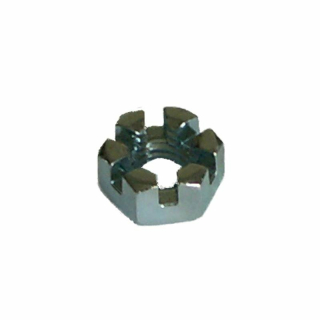 Castelleleted nut tie rod end M10x1 356 A B C