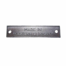Schild Made in Western Germany 356 356A 356B 356C