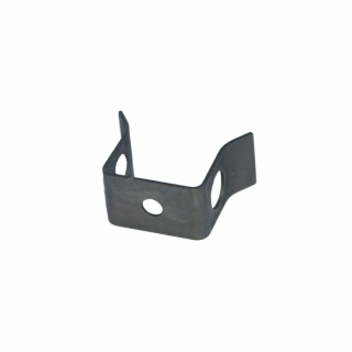 Locking plate flange steering worm